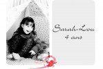 Enfant / Sarah-Lou a 4 ans…