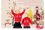 Séance photo Noël dans le studio – Carte de vœux pour les fêtes