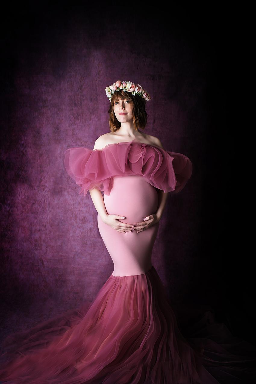 De belles robes pour votre shooting maternité au Studio Petite Snorkys Photography en région de Liège.