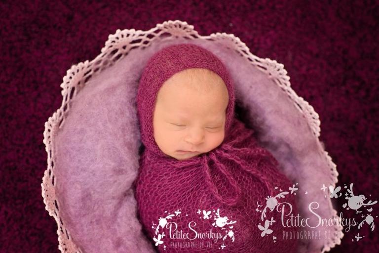 Nouveau-né Liège - Photographe Petite Snorkys - Studio bébé Esneux
