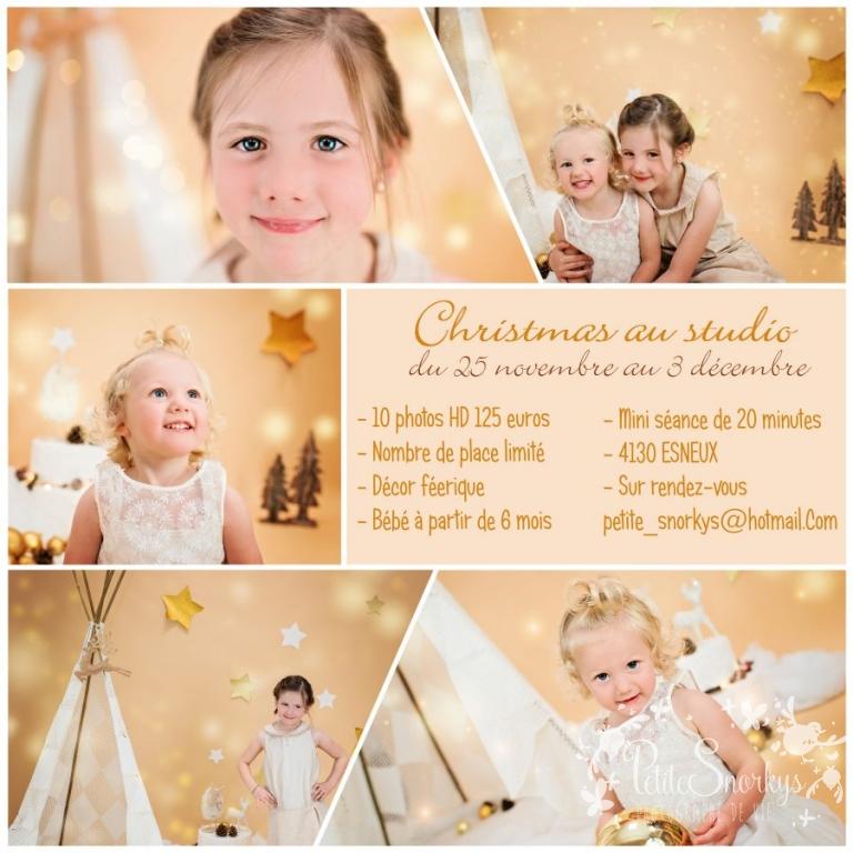 Christmas Session, Noël, studio photo Liège, Séance photo NoËl, Photo Famille, Photographe Enfants, Photographe bébé, PetiteSnorkys, Photographe bébé Liège, Séance Noël, carte de voeux, Décor magique photo, Photo doré