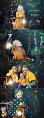 Joyeux Noël – Séance photo magique en famille